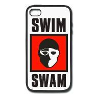 SwimSwam's iPhone 4/4s metal and rubber case by Joto. Carry SwimSwam with you wherever you go- only available at the SwimSwam Swag Store! ($12.99)