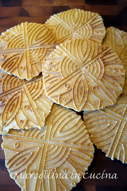 Marcellina in Cucina: Sweet potato pizzelle