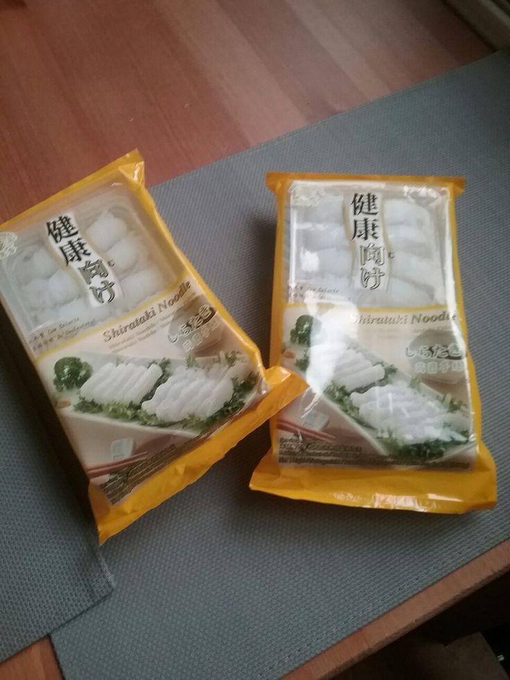 Shirataki noodles dukan dieet attack phase
