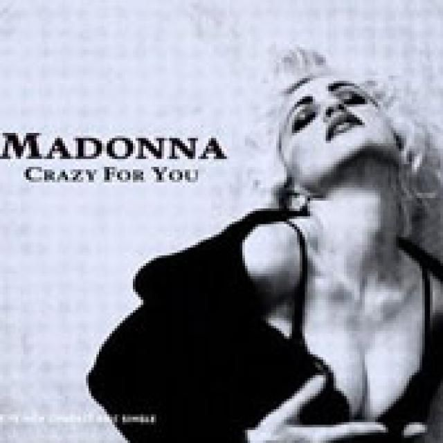 """Madonna's Record-Setting 38 Top 10 Hits: 1985 - """"Crazy for You"""" - #1"""