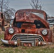 Old Car, Car, Rusted, Vehicle