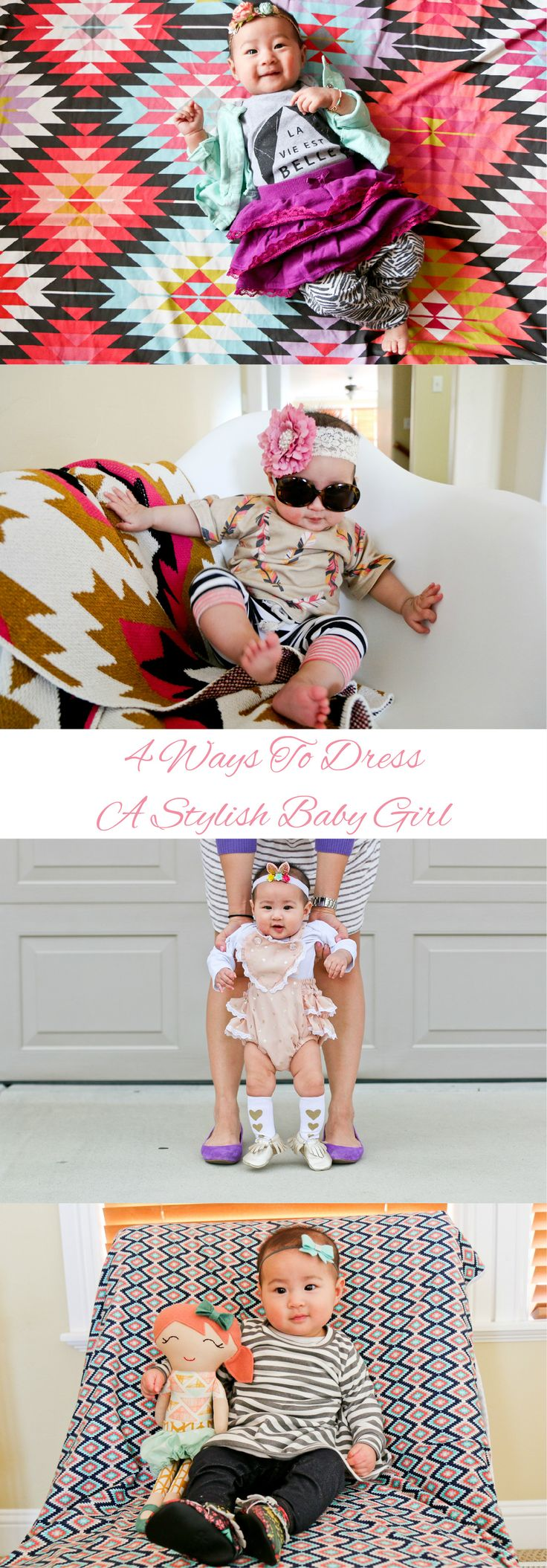 4 Ways To Dress A Stylish Baby Girl