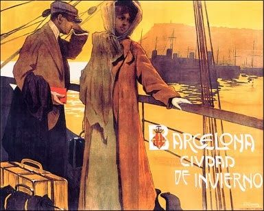 BARCELONA, AHORA Y SIEMPRE: Mapas- Grabados y carteles antiguos