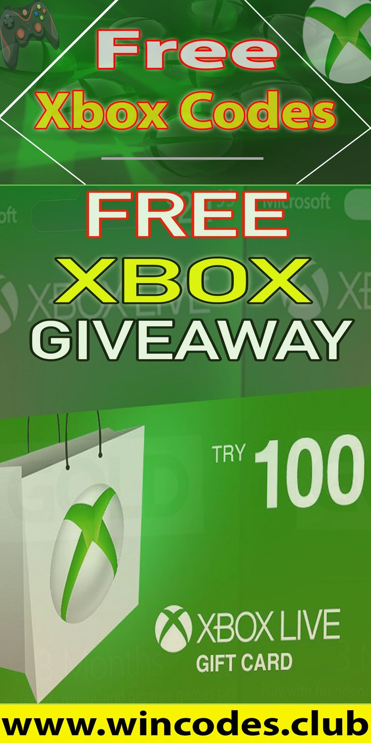 Free xbox gift cards generatorget a 100 free xbox gift