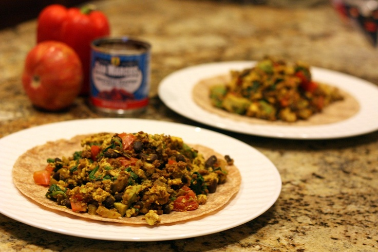 Mexican Scramble - a fun variation on the typical Tofu Scramble ...