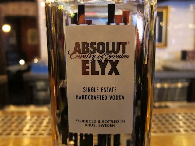 We take a look at Absolut Elyx, one of the best and most significant vodka releases in years.