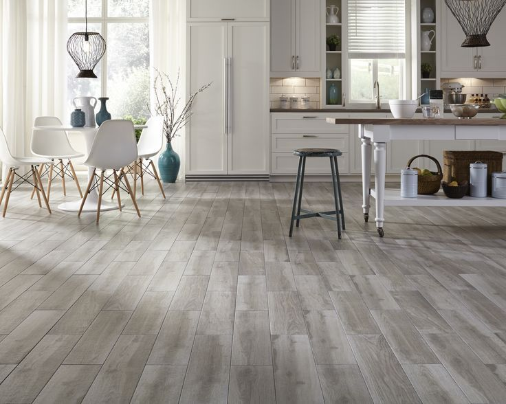 Image result for gray tile wood look with grout - 279 Best Images About Flooring - Tile That Looks Like Wood On