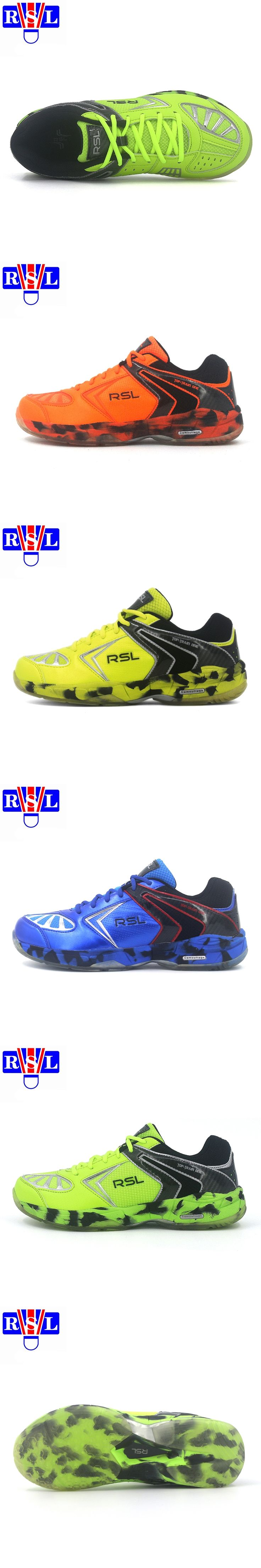 RSL Men's  Badminton Shoes training shoes Breathable Anti-Slippery Light Sneakers RSL Sport Shoes rsl- 0115 sport shoes