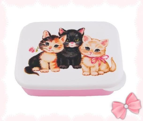 Lunch box- KITTY RETRO - XL via La boutique Poudre de Bulle. Click on the image to see more!