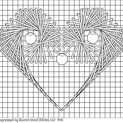 Stitch Diagrams - Sheena's Sweet Stitches