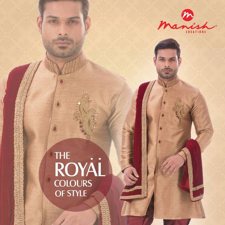 Time to look like a classic. Choose from the best in ethnic wear in colours and designs that can make you the star of the celebrations.  #ManishCreations #IndianWear #EthnicStyle #MensFashion