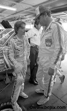Buddy Baker and a very young Mark Martin