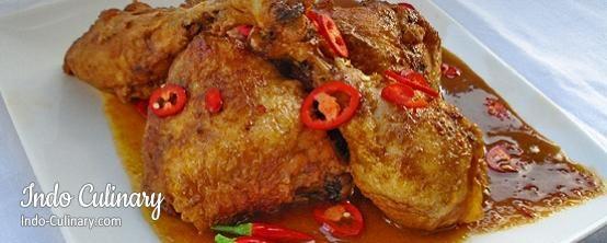 Ayam Bali - Balinese chicken