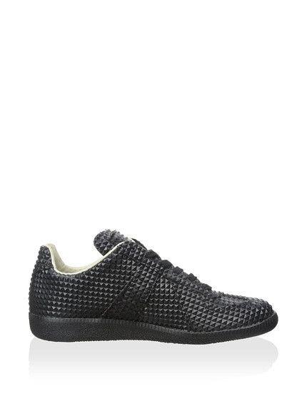 Mm6 Maison Chaussures De Sport De Bande De Contact Métallique Margiela - Gris tQ7vk