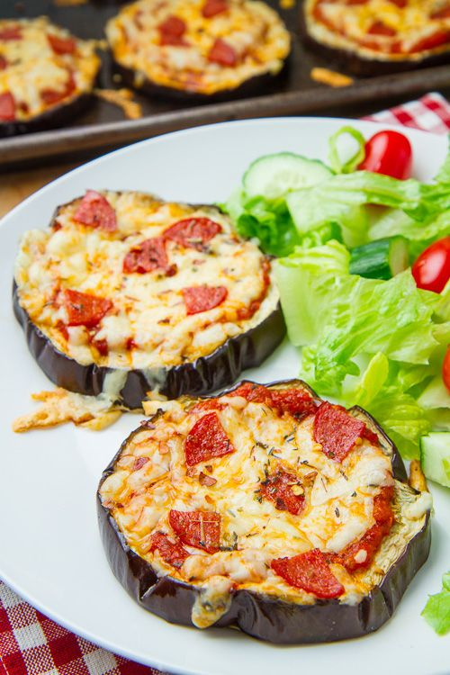 Roasted Eggplant with Parmesan Cheese