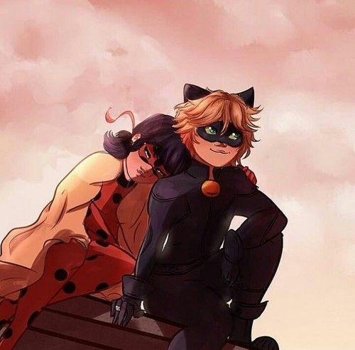 Noir cat sex und ladybug Ladybug And
