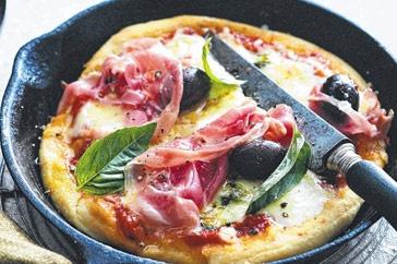 Frypan pizza main image