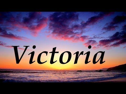 Significado del nombre Victoria - ¿¿Te lo vas a perder??