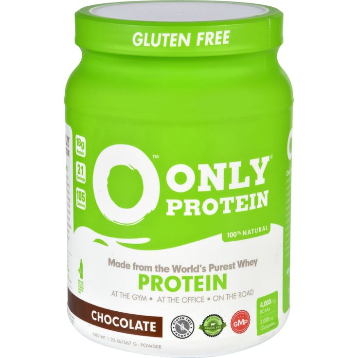 Only Protein Whey Protein - Pure - Chocolate - 1.25 lb - Organic Gluten-Free Only Protein Powder! Grass-fed, cold-filtered Only Protein Powder is designed to fuel your body with 18 grams of clean protein per serving, essential branch chain amino acids, and vitamins, without ANY HARMFUL INGREDIENTS. Our Protein Powder jugs contain 21 servings of Only Protein whey isolate powder. Only Protein Powder jugs are available in the following flavors: CHOCOLATE + VANILLA. ONLY PROTEIN contains branch…
