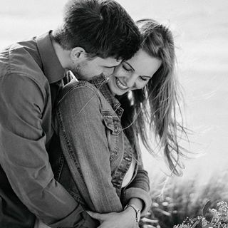couple | shooting | sunset | sea | northsea | love | photography | blackandwhite…