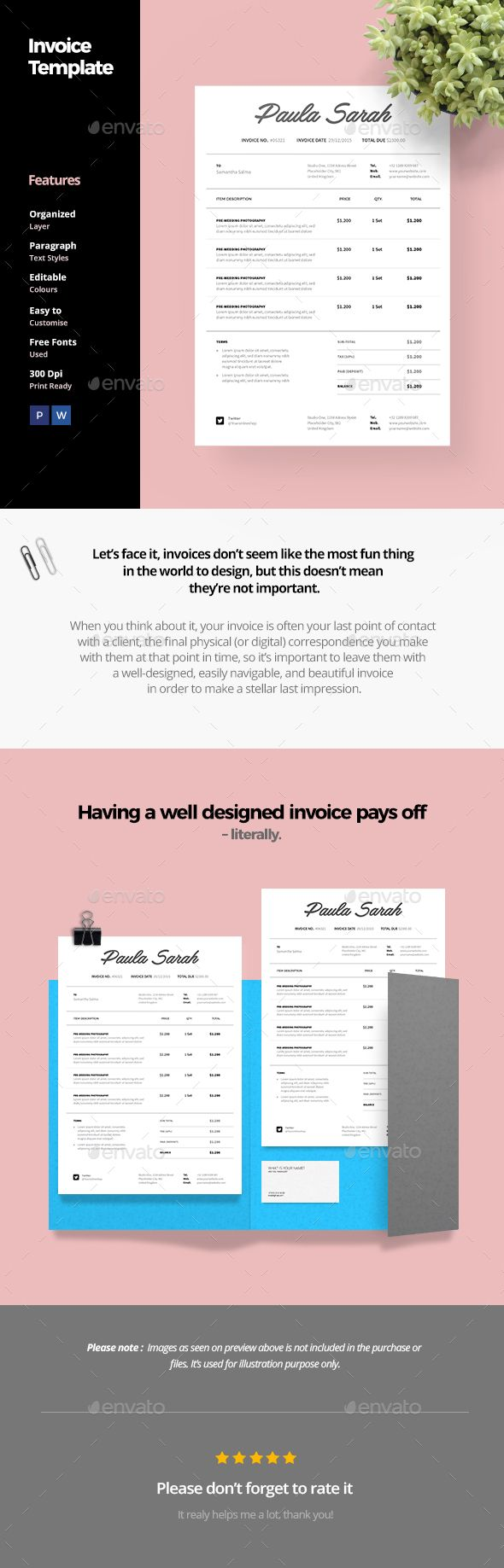 Invoice Template  Best Invoice Templates