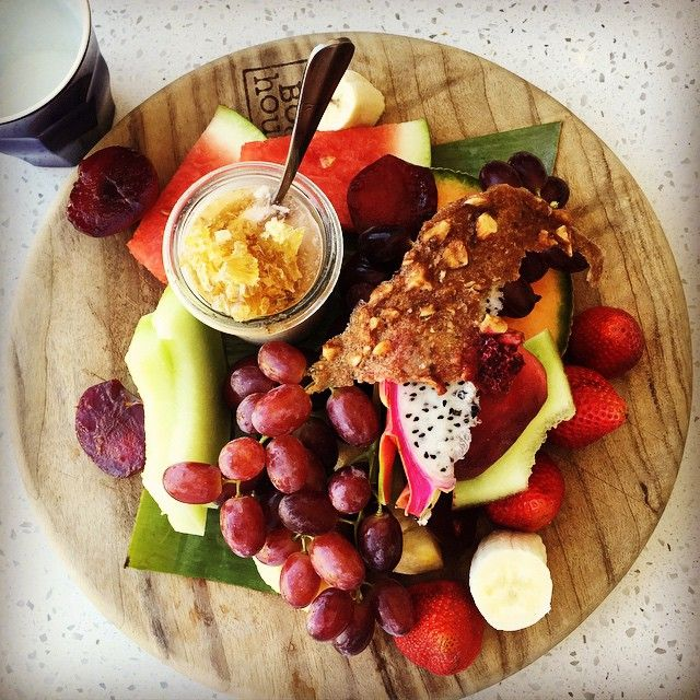 Market Fruit Platter at The Boathouse, Balmoral Beach   Photo: http://instagram.com/joannewilkinson