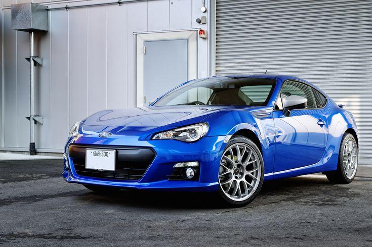 "Subaru BRZ - this one with 18"" Rays Homura wheels."