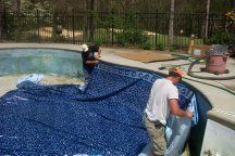 Are you in need of replacing your pool liner? Click on the picture for tips from a pool owner.