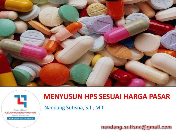 Strategi Penyusunan Harga Perkiraan Sendiri (HPS) by publicprocurementinstitute via slideshare
