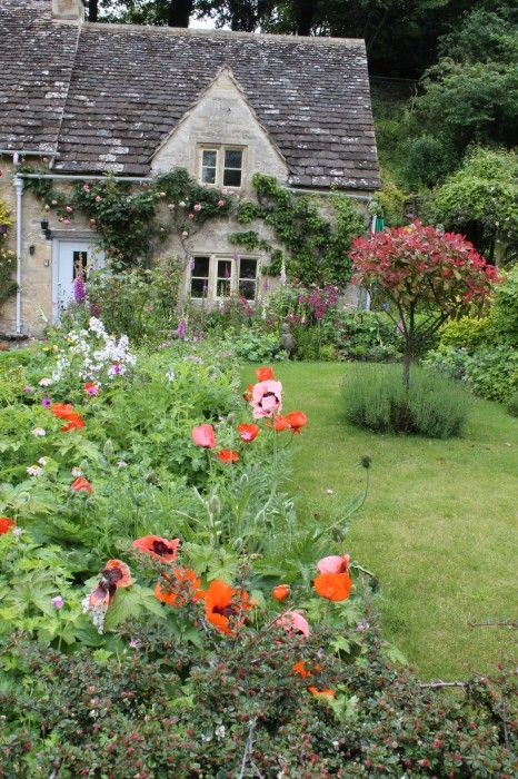 English cottage and garden