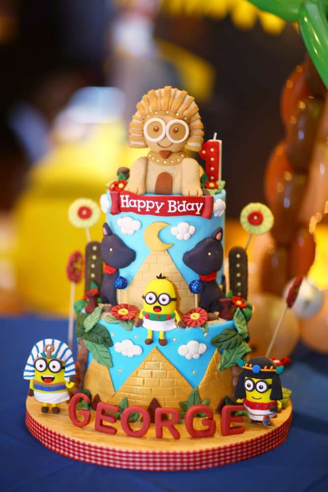 Despicable Me / Minions Birthday Party Ideas Part 67