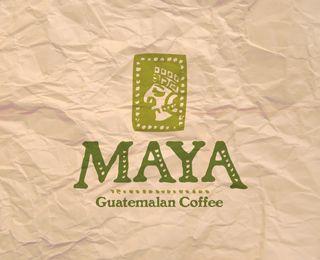 Maya Guatemalan Coffee by Antonio Zacarias (via Creattica)