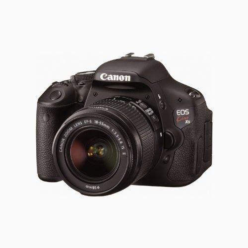 BuyCameraDSLR.com | Canon Kiss X5 (EOS 600D / Rebel T3i) with Canon EF-S 18-55mm IS II Lens | Buy Digital SLR Camera