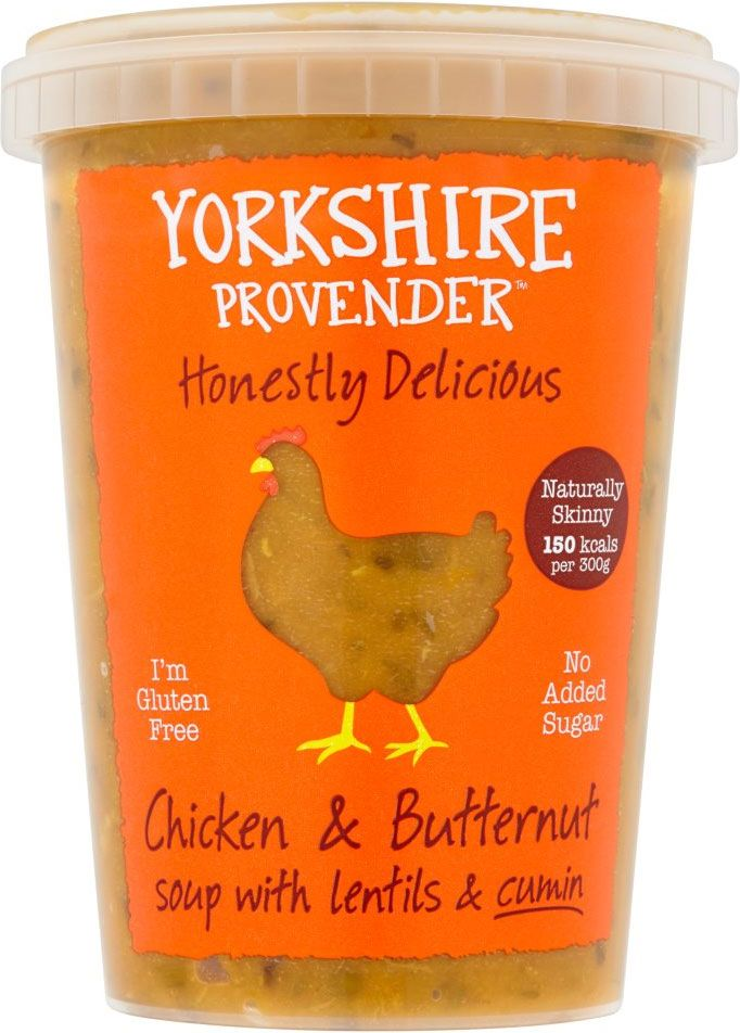 Yorkshire Provender Chicken & Butternut Soup (600g) | Compare Prices, Buy Online | mySupermarket