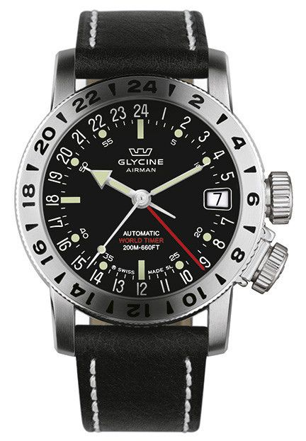 Glycine Watch Airman 17 #bezel-bidirectional #bracelet-strap-leather #brand-glycine #case-depth-10-75mm #case-material-steel #case-width-46mm #clasp-type-tang-buckle #date-yes #delivery-timescale-1-2-weeks #dial-colour-black #gender-mens #luxury #movement-automatic #official-stockist-for-glycine-watches #packaging-glycine-watch-packaging #style-dress #subcat-airman #supplier-model-no-3917-19-lb9b #warranty-glycine-official-2-year-guarantee #water-resistant-200m #world-time-yes