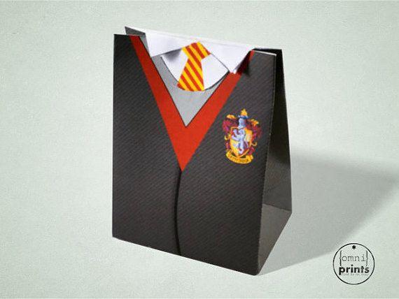 Finally, he sends them all home with this perfect surprise. | 31 Formas de organizar la mejor fiesta de cumpleaños con tema de Harry Potter