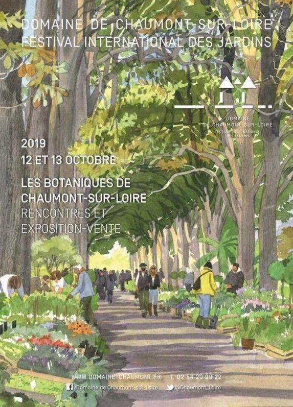 Premiere Edition Des Botaniques De Chaumont Sur Loire Les 12 Et 13