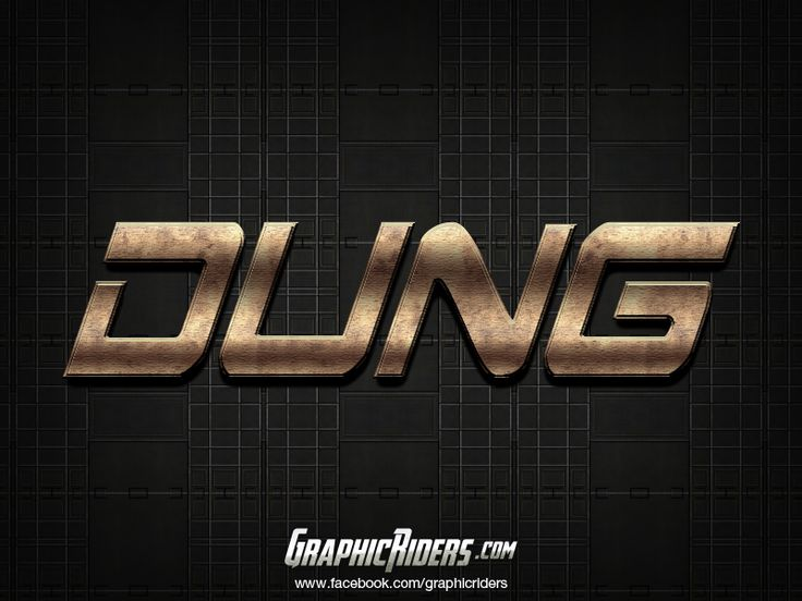 Action style – Dung (free photoshop layer style, text effect, free psd file) #graphicriders