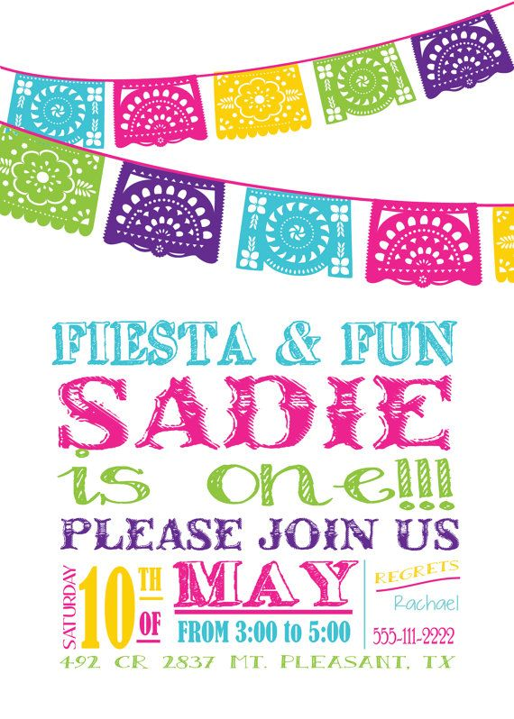 Best 25 Fiesta invitations ideas – Mexican Themed Party Invitations