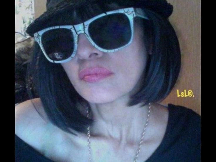 GOTHIC CRACKLE ROCKIN SHADES 02. 100% UV400. SOLD BY LADY SONIA LORRAINE...LsL©. #BlueCrown #DazednConfused http://www.homeshoppingwithladysonialorraine.com