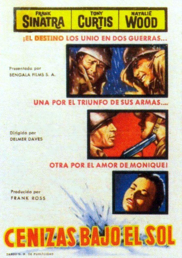 """Cenizas bajo el sol (1958) """"Kings Go Forth"""" de Delmer Daves - tt0051819"""
