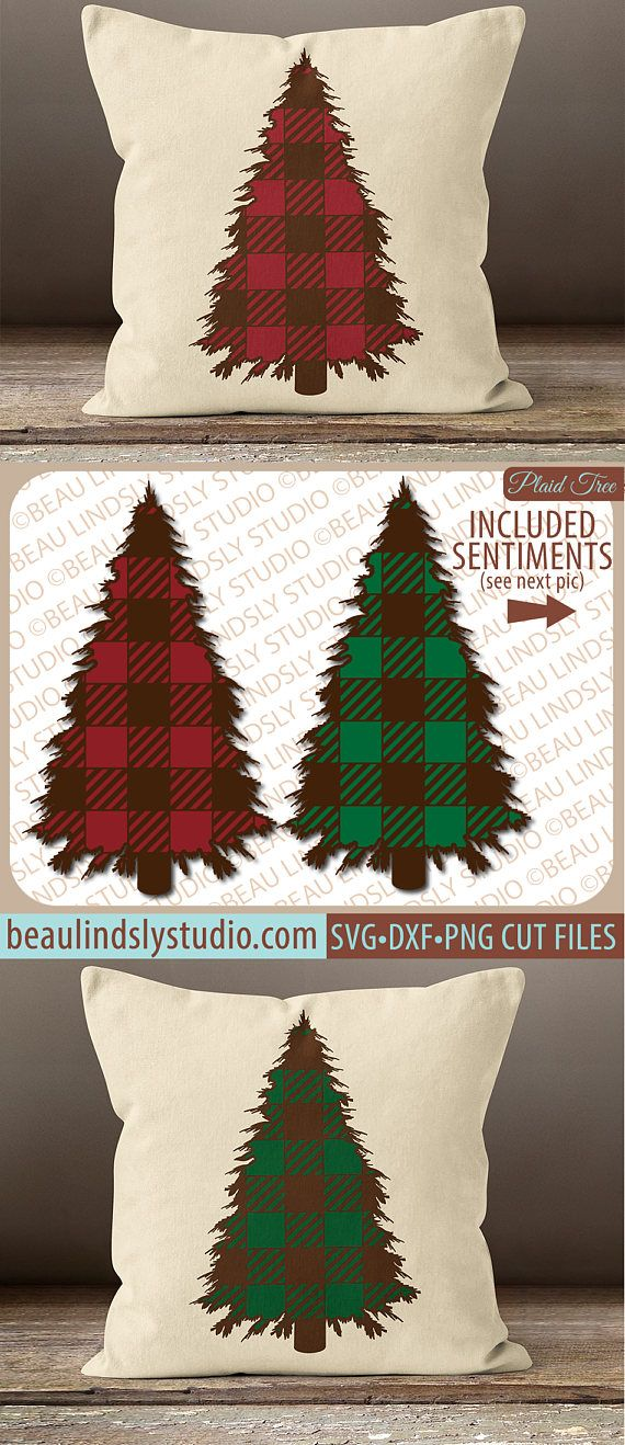 Plaid Christmas Tree SVG, Christmas SVG, Christmas Clip Art, Holiday SVG File For Silhouette Pattern, SVG File For Cricut Project, Christmas Tree Clip Art DXF File, PNG Image File. This Design features a Plaid Christmas Tree or all winter long! It would be perfect for as Cabin Christmas Decor! Great for Vinyl Projects, from HTV to Signs to Scrapbooking! www.beaulindslystudio.com