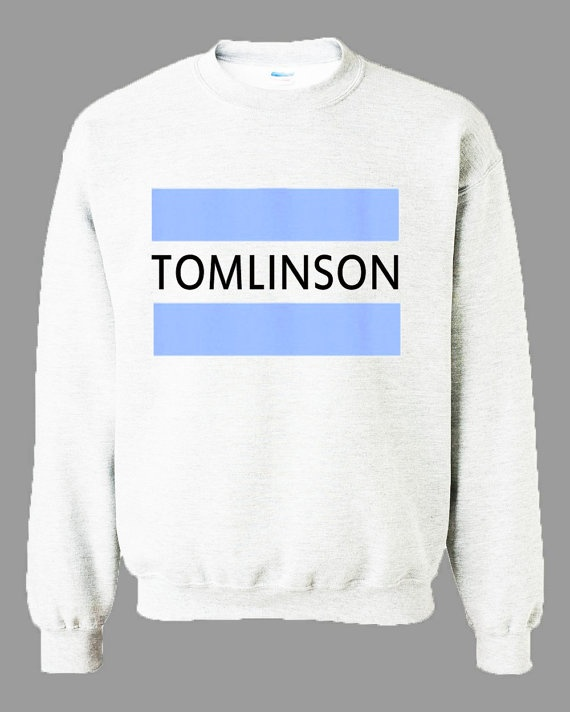 Tomlinson One Direction 1D Names Nicknames Unisex Sweater Sweat Shirt Sweatshirt on Etsy, $27.99