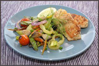 ŐRÜLTEN  JÓ ÉTELEK : Hal és zöldség azaz Egy könnyű és egészséges nap