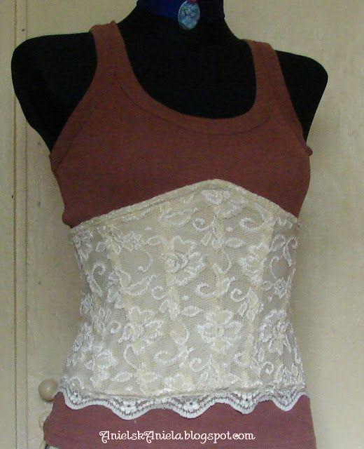 DIY..Gorset....corset...