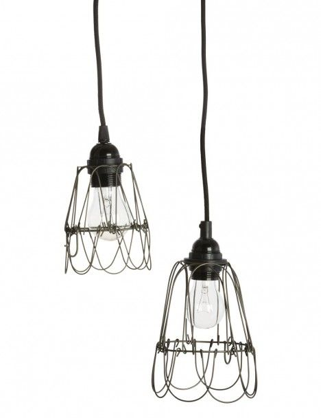 Industrial Metal Wire Lamp Shade