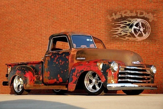 Ebay Find: A Slammed, Patina '49 Chevy C-10 Pickup For Sale
