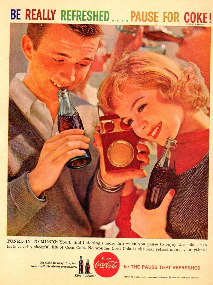 Sandra Dee coca cola 1959