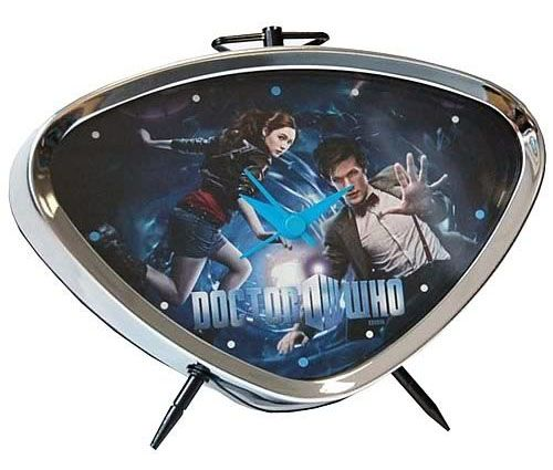 Dr Who: The Eleventh Doctor and Amy Pond Alarm Clock $20.99