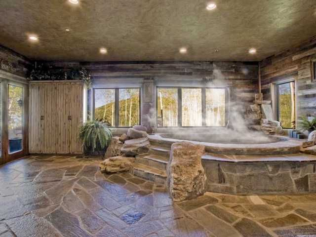 Indoor Hot Tub Indoor Hot Tub Indoor Hot Tub Hot Tub Room My Dream Home